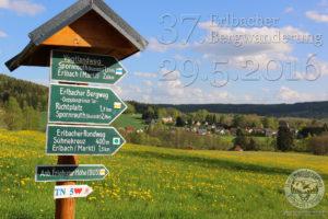 Ankündigung Erlbacher Bergwanderung 2016